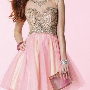 Alyce Paris Short Pink Style #3645